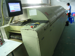 hot-air lead-free reflow oven
