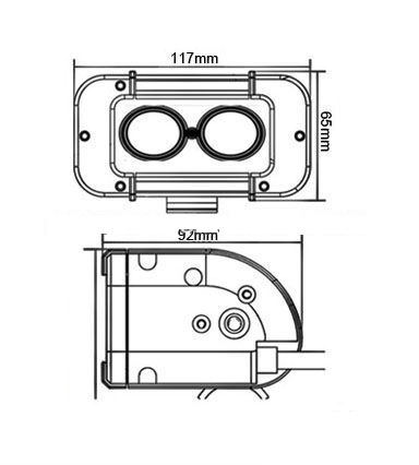 B00514B34C likewise 1981 Cb900c Wiring Harness Diagram moreover 65  et in addition Britax A421 Halogen Light Bar as well Product info. on dual light bar wiring harness