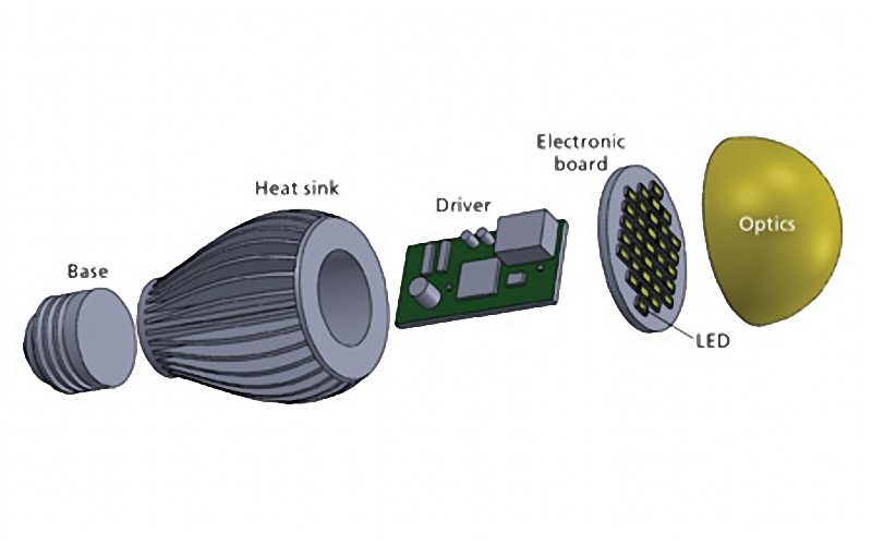 led light components