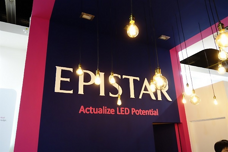 Epistar LED chip business plan for the year 2018