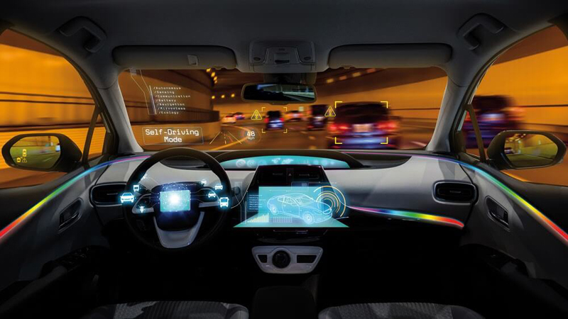 RGB LED modules with an integrated controller that can deliver new SSL capabilities in an automotive cabin