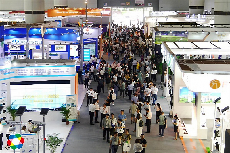 Guangzhou International Lighting Exhibition (GILE) 2019 held in Guangzhou,China earlier in June