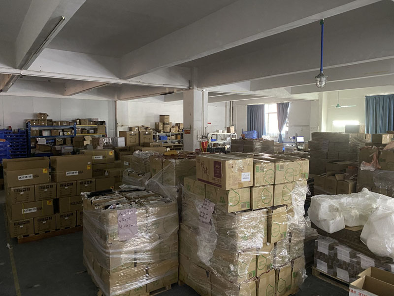 a big inventory of materials in our warehouse