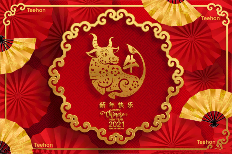 Happy Chinese lunar new year holiday.